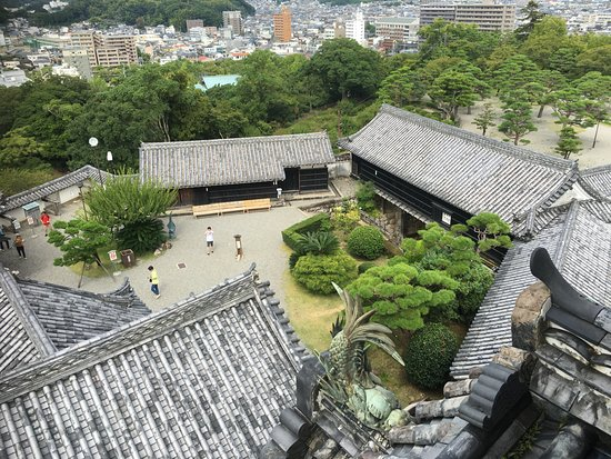 Kochi Castle: 高知城から見た景色2!