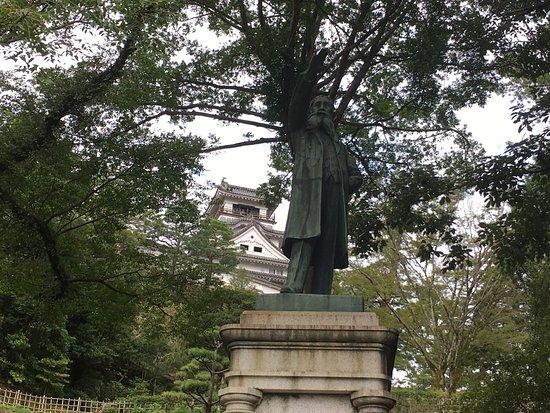 Kochi Castle: 銅像2!