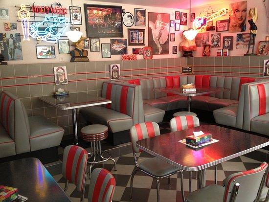 Origineel \'American Diner\' interieur - Foto van Happy Days Diner ...