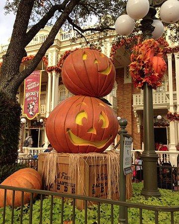 magic kingdom park halloween pumpkin decorations - Pumpkin Decorations