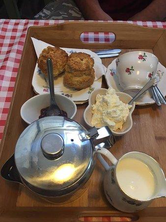 Penrith, UK: Deliciously quaint cream tea