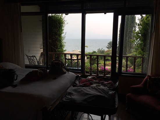 Hotel Atitlan: Habitación con vistas al lago
