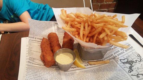 Le Comptoir : fish & chips