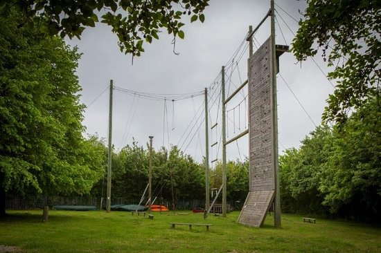 Kempston, UK: High Ropes course