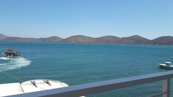 Hotel Aristea: View from balcony