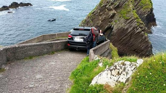 Do Not Attempt To Drive You Suv Down To Dunquin Pier It