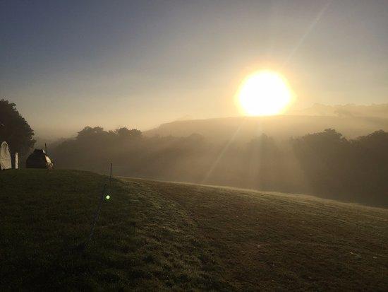 Grampound, UK: Morning has broken