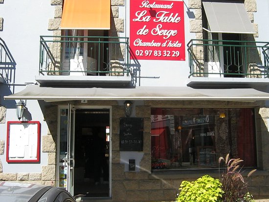 Pluvigner, Frankrig: Bienvenue a la table de Serge