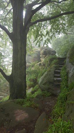 Birchover, UK: Druids Caves