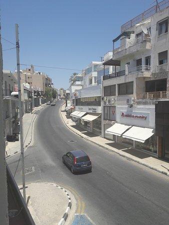 Agapinor Hotel: Вид на город