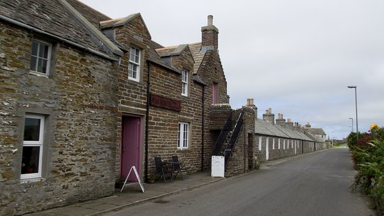Shapinsay, UK: Balfour village centre.