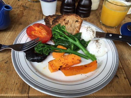 Висестер, UK: Veggie breakfast