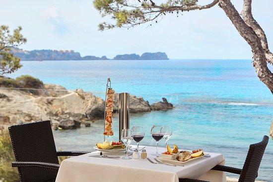 Universal Hotel Lido Park: Restaurant terrace
