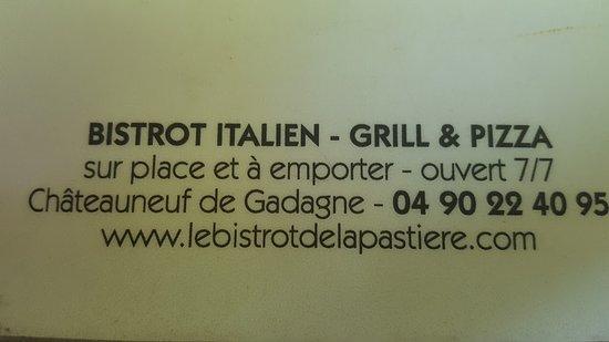 Chateauneuf-de-Gadagne, França: indirizzo del locale