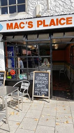 Cheadle, UK: front of the shop