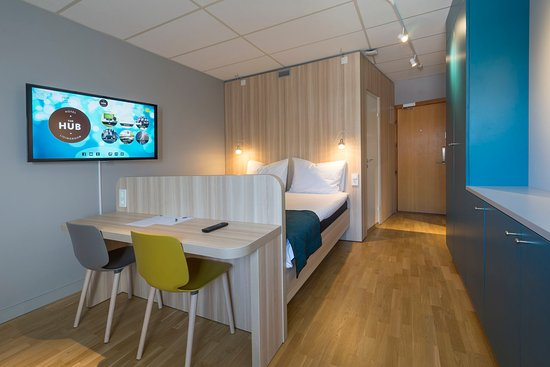 Kista, Szwecja: The Hub Longstay Room