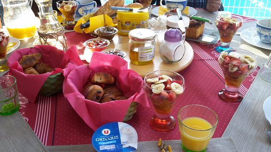 Mareuil-sur-Cher, França: un super petit déjeuner !