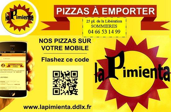 Pizzeria La Pimenta Carte De Visite
