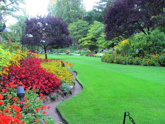 Butchart Gardens: jardin