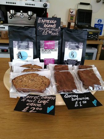 We are now selling bags of lovely espresso blends from Pharmacie for you to take home
