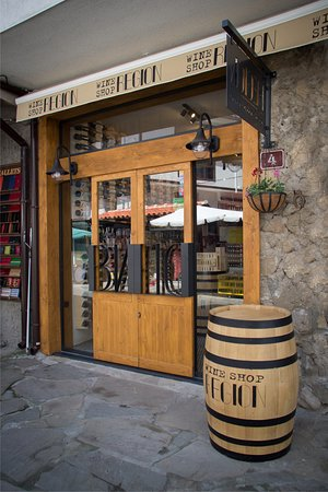 Wine Shop and Bar Region