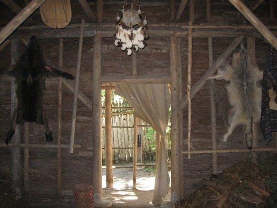Wendake, كندا: Long house