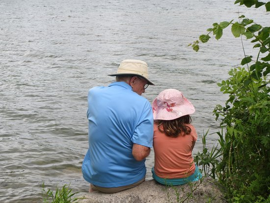 Ingleside, Canadá: Hanging out with Grandpa