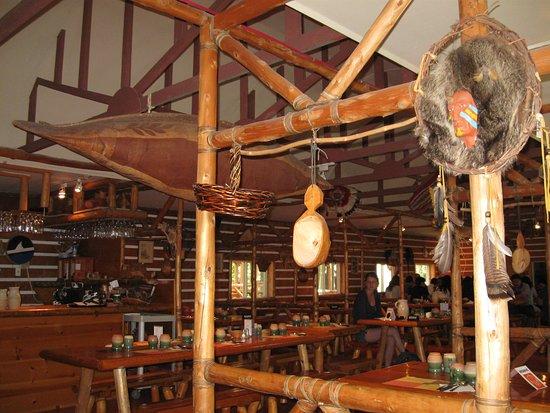 Wendake, كندا: Dining room