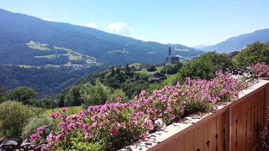 Brunnerhof : Vista della vallata dalla camera