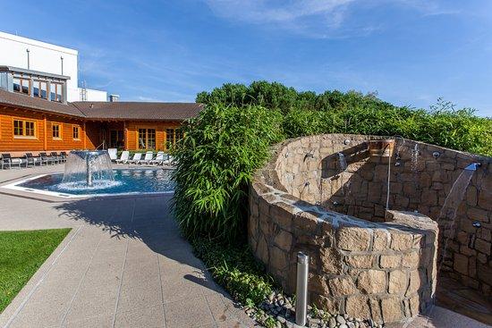 Walferdange, Luxemburgo: Exterior sauna of PIDAL