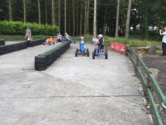 Fowley Cross, UK: Outdoor Karting Fun