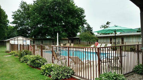 Painted Post, NY: Pool Area