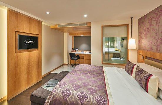 Hotel Bawa International: Deluxe room smoking 1