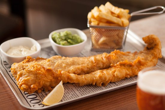The Craster Arms Restaurant: Fish & Chips