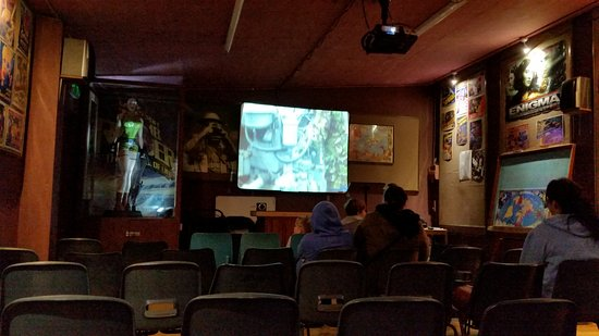 Davidstow Airfield & Cornwall At War Museum: The old cinema