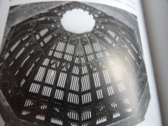 Middelburg, Niederlande: ontwerp van de 17de eeuwse koepel van de Oostkerk