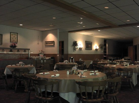 Reedsburg, WI : Marty's Restaurant Interior View