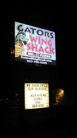 Palatine, IL: Gators wing shack