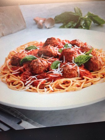 Church Point, Canadá: Lunch special - Pasta and meatballs