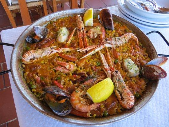 Mercadal, Spain: paella ai frutti di mare