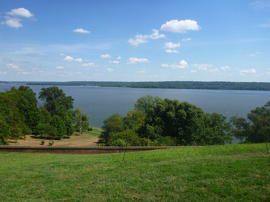 Mount Vernon, Βιρτζίνια: View from the Mansion Porch