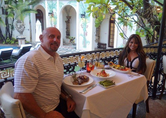Gianni S Versace Restaurant In South Beach Miami