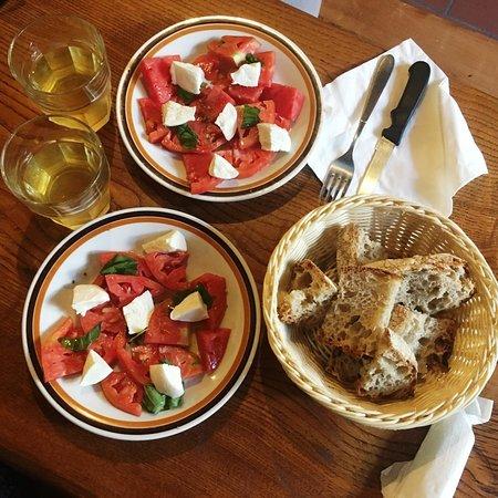 Mozzarella e pomodori fantastici !