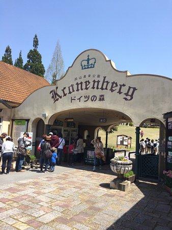 German Forest Kronenberg: ゲートはこんな感じ。