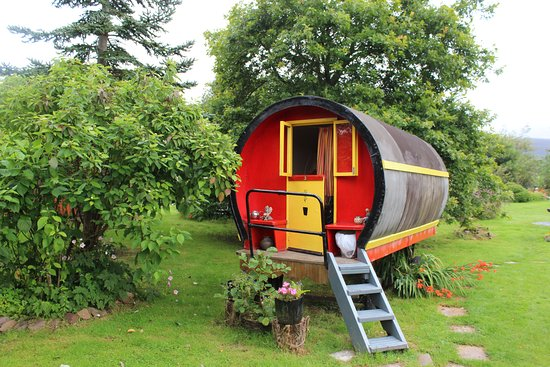 Castlemaine, Irlanda: One of the two Gypsy caravans for rent