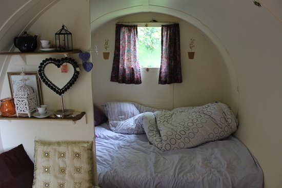 Castlemaine, Irlanda: The interior of the caravan