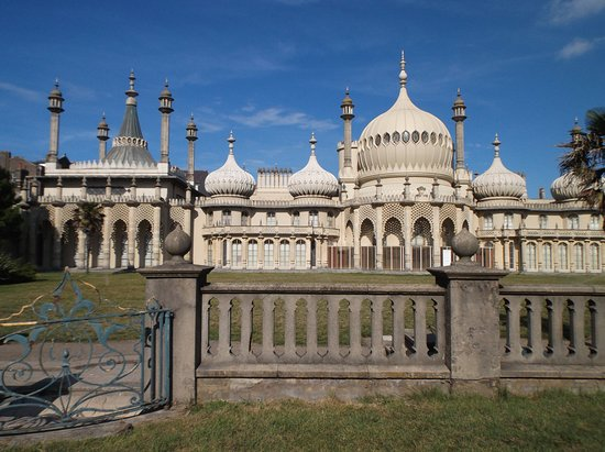 Royal Pavilion: Front view from road