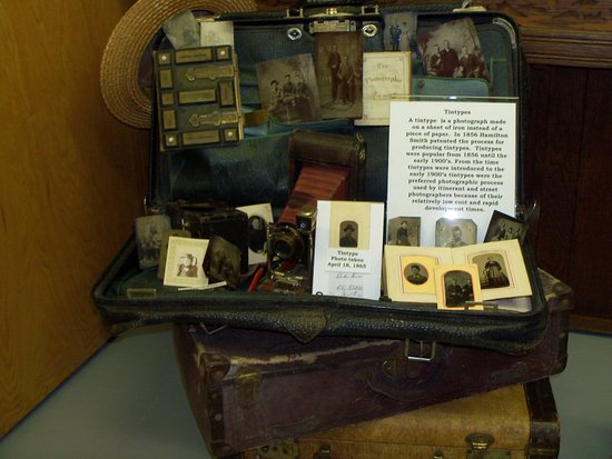 Ladysmith, WI: Photography Equipment & Tintype Photos
