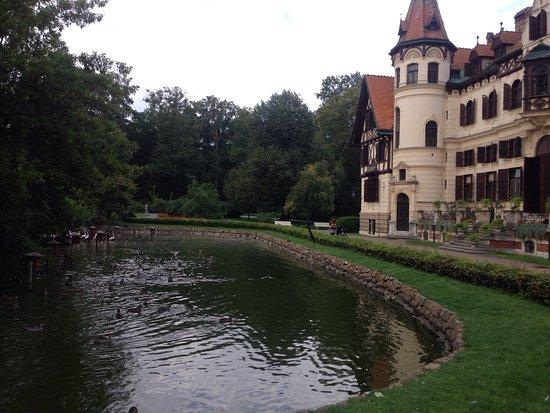 Zlin, Republika Czeska: zamok