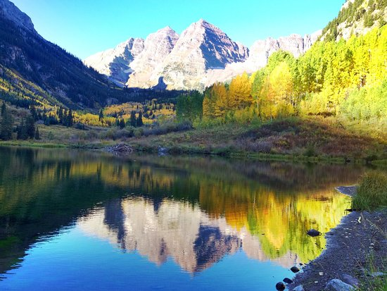 Cloudy But Still Beautiful Review Of Maroon Bells Aspen Co